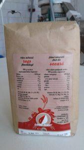 Teljeskiőrlésű rozsliszt 1 kg