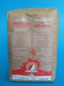 Teljeskiőrlésű tönkölybúza finomliszt 1 kg